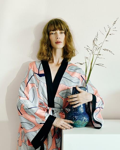 Silk Kimono Pink
