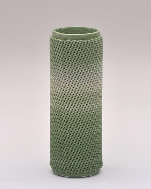 Green Weave L Vase