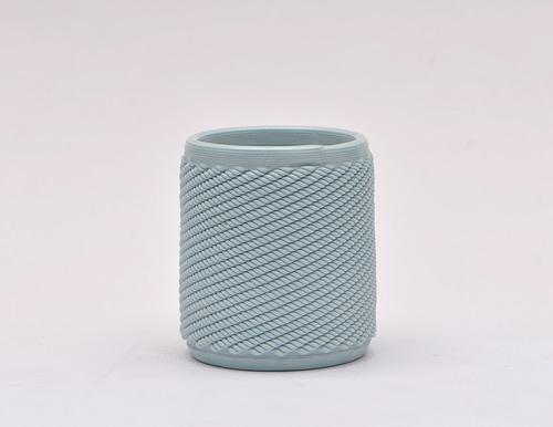 Light Blue Weave Cup
