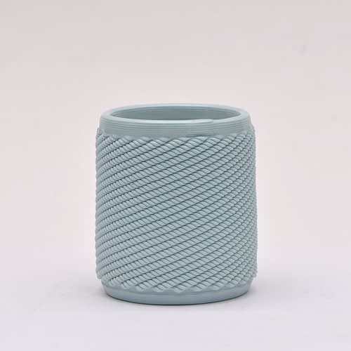 Light Blue Weave Cup