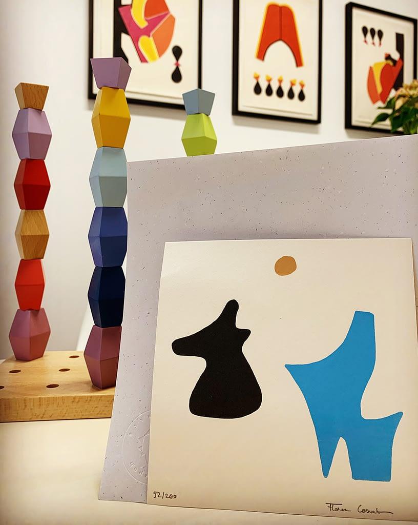Cosmin Florea edition in Alisa's home