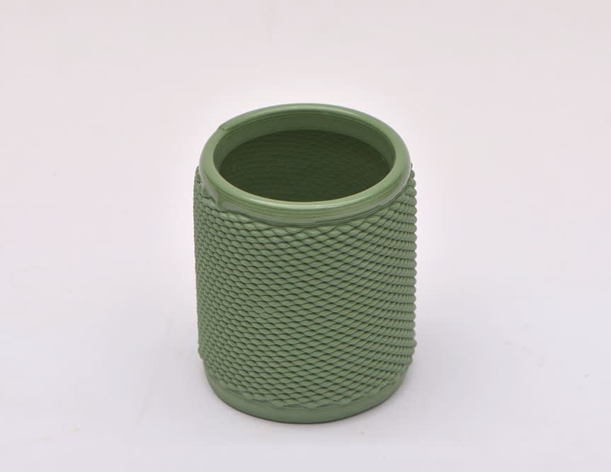 Green Weave Cup