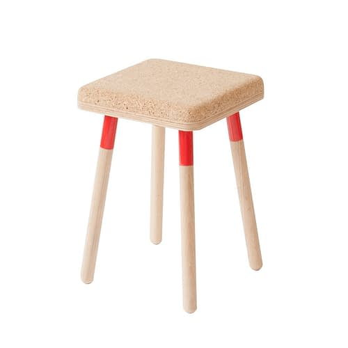 Marco Stool Red