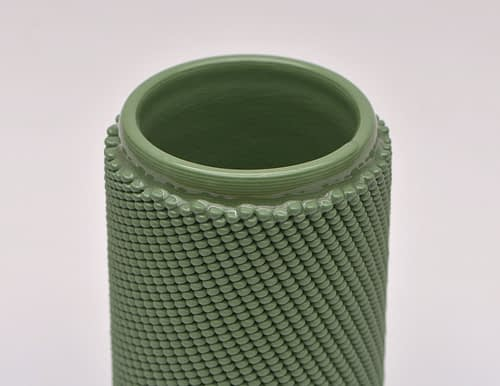 Green Weave S Vase