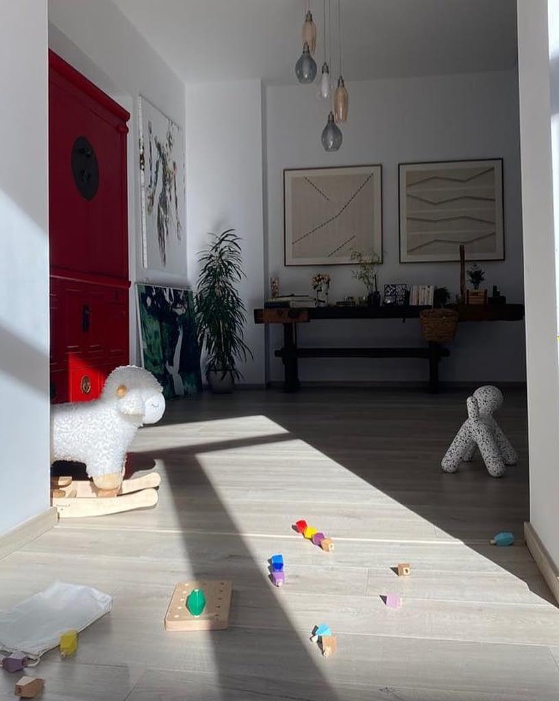 Minitremu in Daniela's home