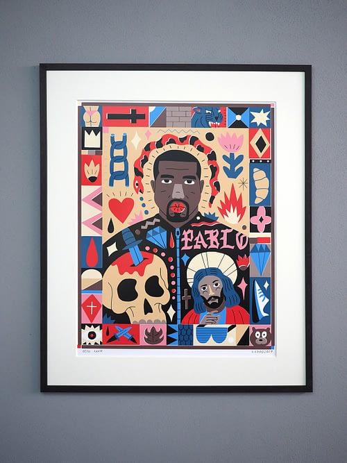 Saddo – Kanye - Art Edition
