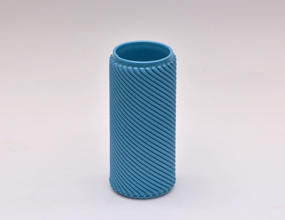 Blue Weave M Vase