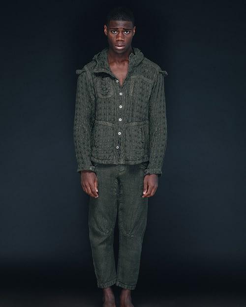Green Hemp Jacket