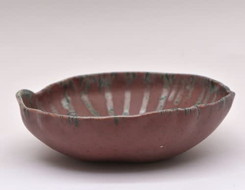 Purple Lines Bowl